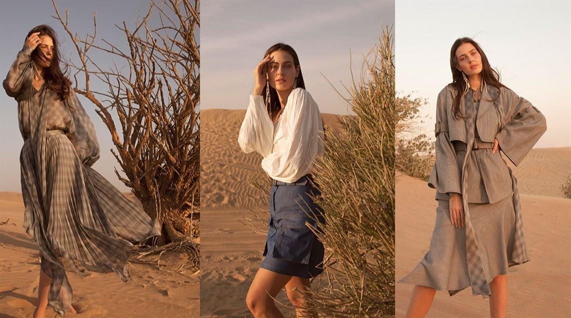 3c8ca899f6114 زهرة الخليج - صحراء دبي مصدر إلهام المصمون العالميون في 2019