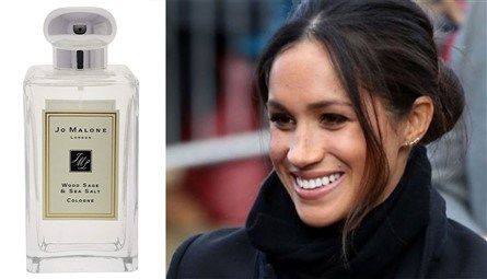 ميغان ماركل تعشق عطر Jo Malone Wood Sage and Sea Salt
