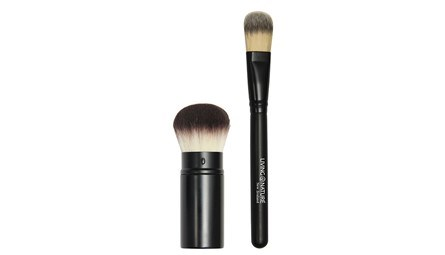 Living Nature Kabuki & Foundation Brushes